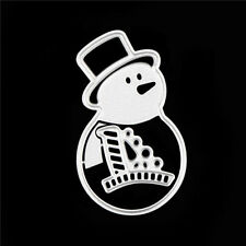 Xmas Snowman Metal Cutting Dies DIY Scrapbooking Decor Embossing Photo W&T