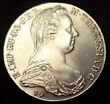 Österreich Thaler Maria Theresienthaler Silber Silbermünze Austria Silver Coin