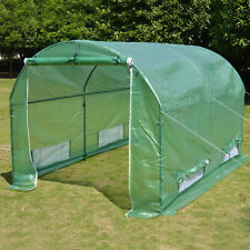 New Hot Green House 10'X7'X6' Larger Walk In Greenhouse Outdoor Plant Gardening