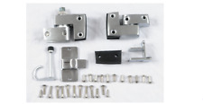 "Inswing Slide Latch Door Hardware for Phenolic Partition, 3-1/4""H x 3-1/4""W x 5-"