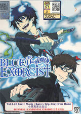 DVD  Blue Exorcist 1-25 End + Movie Kuro's Trip Away From Home + Free anime