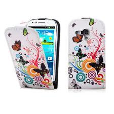 Fundas y carcasas pictóricas de piel sintética para teléfonos móviles y PDAs Samsung