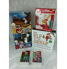 Elf on the Shelf boy doll pets outfits bath set 6 piece lot starter kit NEW