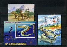 Prähistorische Tieren Klein Sammlung Set 3 S/s MNH