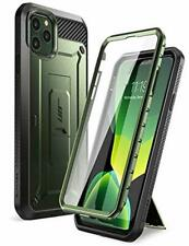iPhone 11 Pro Max Case Belt Clip Holster Screen Protector Rugged Hybrid PC Green