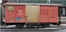 Bemo 2273 306/2273306 Schmalspur Gedeckter Güterwagen Gk556 MOB braun H0m