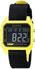 Electric Watch ED01 Digital Yellow Case Black Strap Multifunction EW0110020027