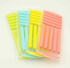 10 Cavity Round Sticks Mould Coloured Non Stick Silicone Ice Chocolate Mold Tray