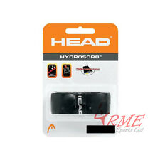 Head Hydrosorb Tennis, Squash or Badminton Racket Grip (Black)