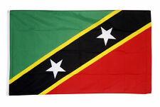 St Kitts & Nevis Flag Large 5 x 3 FT -  Saint Christopher Island Caribbean
