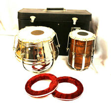 Professional Quality Tabla Set Rod Tunable with Hard Case and Rigs All Included