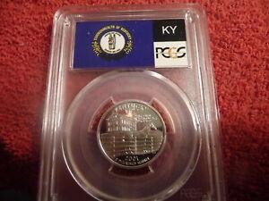2001 s silver Kentucky statehood quarter PCGS PR 69 DCAM