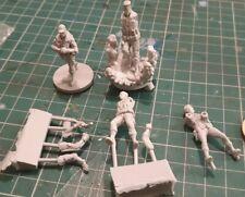 Hellboy Kickstarter resin BPRD agents