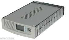 Mobile rack, Removable caddy. 68Pin Wide SCSI. LCD. Beige. Aluminium. SI-145U3