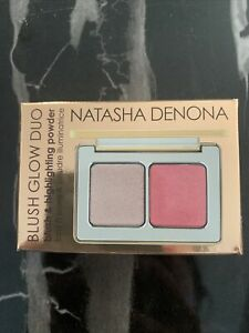 Genuine NATASHA DENONA Blush & Glow Duo BNIB Blush Highlighter Powder