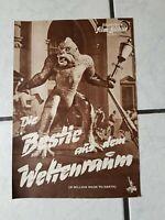 Die Bestie aus dem Weltenraum-FilmProgramm -50-60 er Jahre- ca. 4 Seiten,org.