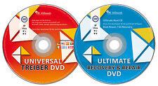 Windows Treiber & Notfall CD ★ 2 CD Set ★ Universal Treiber + Daten Rettung