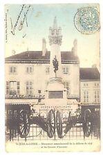 CPA 21 - SAINT JEAN DE LOSNE(Côte d'Or) - Monument commémoratif de la défense