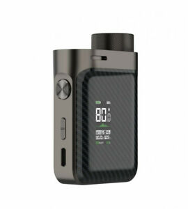 Genuine Vaporesso Swag PX80 Mod + 510 Adapter (Brick Black) - UK Stock