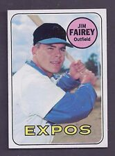 1969 Topps #117 Jim Fairey Montreal Expos NM Plus