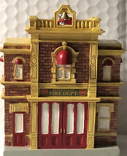 Disney DisneyLand Fire Dept. 105 Holiday Ornament New