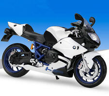 Maisto 1:12 BMW HP2 Sport Motorcycle Bike Model New White