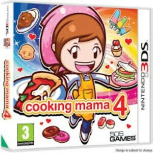 Cooking Mama 4 - Nintendo 3DS Game. Complete with case, manual & cartridge.