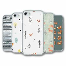 For iPhone 7 & 8 Silicone Case Cover Fox Collection 4