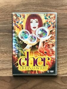 CHER Live In Concert  DVD + Illustrated Booklet - Believe Tour 1999