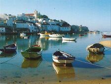 Postcard Portugal Algarve Ferragudo Fishing Village Unused MINT