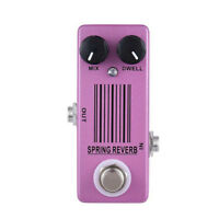 MOSKY Spring Reverb Single Guitar Effect Metal Mini Size Pedal High Quality