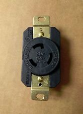(10 pc) Heavy Duty L6-20R 3-Prong Twist Lock Locking Receptacle Device 20A 250V