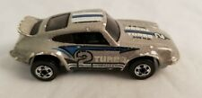 RARE Vintage 1974 HOT WHEELS PORSCHE P-911 TURBO 2 300 HP BLUE STRIPE