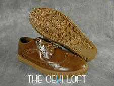 Mens VLADO Casual Leather Shoes PARSON in BROWN