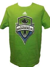 NEW Seattle Sounders Youth Sizes M-L-XL (10/12-14/16-18) Lime Green Adidas Shirt