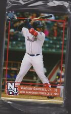 2018 New Hampshire Fisher Cats Complete SEALED Team Set  -  VLADIMIR GUERRERO JR