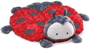 BABY GUND plush boutique comfy cozy LILLY ladybug NWT mat blankie toy lady bug