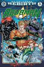 AQUAMAN 1 VOL 6 BRAD WALKER DREW HENNESEY 1st PRINT NM