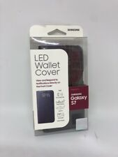 Brand New!! Samsung LED View Wallet Cover Card Case For Samsung Galaxy S7