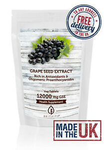 Grapeseed Extract 12000mg GSE Tablets BV