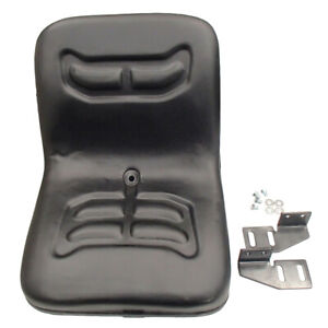 Universal Compact Tractor Seat with Brackets Fits Kubota Fits Ford Satoh Iseki