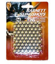 BARNETT acciaio .380 SLINGSHOT AMMO Catapulta Cuscinetti A Sfera Confezione Da 140