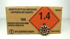 1000 pieces Spit Cal 6.3/12   for  P45 P60 P200 P70SR P370 Blue Calibre