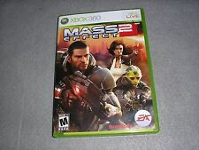 Mass Effect 2 for Xbox 360 MINT COMPLETE TESTED & WORKING Game