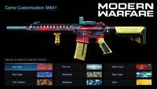 Modern Warfare - 1 Weapon Camo / Max Weapon Level Recovery! (READ DESC)(XBOX1)