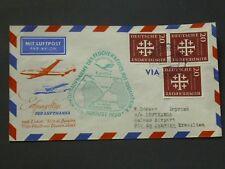 Bund schöner Erstflugbrief 15. August 1956 - Brasilien