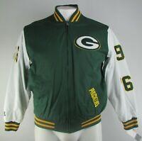 Green Bay Packers 4X Super Bowl Champions NFL Men's Full-Zip Bomber