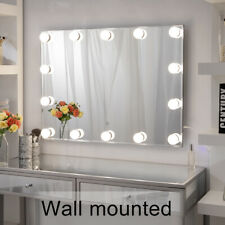 Hollywood Makeup Mirror With Lights Frameless Vanity Mirror for Dressing Room