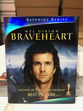Braveheart (Blu-ray Disc, 2009, Sapphire Edition) New w/ Mint Slipcover Oop