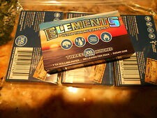 Roll Your Own Papers by ELEMENTS- 4 packets /300 leaves ea (1200 Papers )New!!